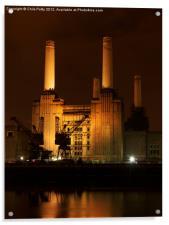 Battersea Power Station, London , Acrylic Print