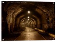 Headstone Tunnel, Derbyshire, Monsal Trail, Acrylic Print