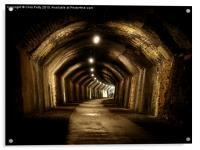 Chee Tor No 1 Tunnel, Derbyshire, Monsal Trail, Acrylic Print