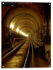 Thames Tunnel, London, Brunel, Acrylic Print
