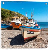 Cadgwith Cove, Cornwall , Acrylic Print