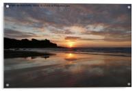 Porthmeor Beach, St Ives, Cornwall, Acrylic Print