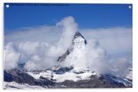 The Matterhorn, Acrylic Print