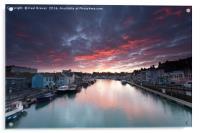 Weymouth at Sunrise, Acrylic Print