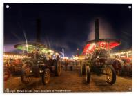 Great Dorset Steam Fair 2016, Acrylic Print
