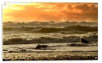 Evening Kinard Beach, Acrylic Print