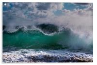 Waves, Acrylic Print