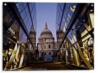 St Paul's Cathedral, Acrylic Print