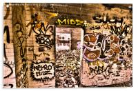 Doorway of spray, Acrylic Print