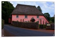 Rose Cottage, Acrylic Print