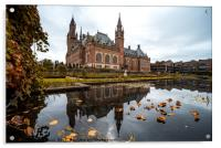 Peace Palace in The Hague, Acrylic Print