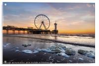 The Hague Beach, Acrylic Print