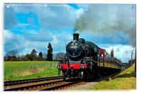 Steam Loco 46521, Acrylic Print