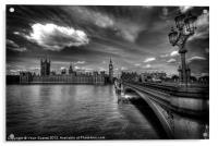 Palace Of Westminster - London, England, Acrylic Print