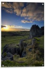 Harborough Rocks 1.0, Acrylic Print