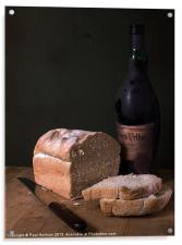 Bread & Wine, Acrylic Print