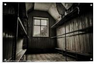 The old Cloakroom, Acrylic Print