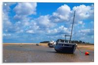 Estuary Mooring, Acrylic Print