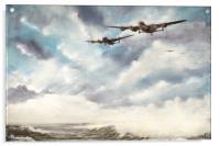The Long Flight Home, Acrylic Print