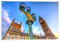 Houses Of Parliament London, Acrylic Print