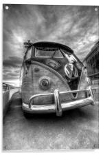 VW Camper Van, Acrylic Print