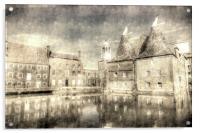 Three Mills Bow London Vintage, Acrylic Print