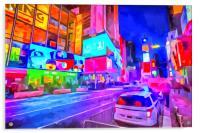 Times Square New York Art, Acrylic Print