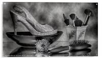 ALL ABOUT THE SHOES, Acrylic Print