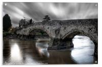 AYLESFORD BRIDGE, Acrylic Print