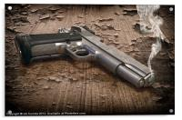 SMOKING GUN, Acrylic Print