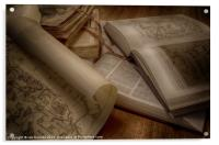 BOOKS OF KNOWLEDGE, Acrylic Print