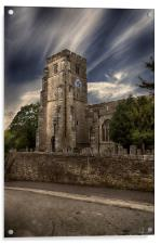 THE BELL TOWER, Acrylic Print