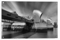 The Thames Barrier, Acrylic Print
