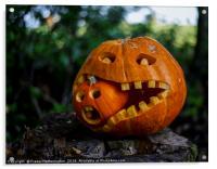 Cannibal Pumpkincaust, Acrylic Print
