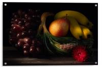 Fruit Still Life 2, Acrylic Print