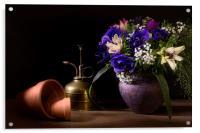 A Vase of Anemones, Acrylic Print