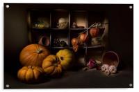 Halloween Still Life, Acrylic Print