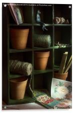 The Potting Shed, Acrylic Print