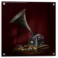The Phonograph 5, Acrylic Print