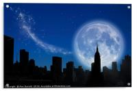 New York Fantasy, Acrylic Print