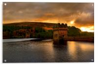 Derwent Dam Sunrise, Acrylic Print