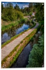Causeway To The Chequers, Acrylic Print