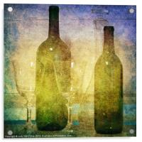 Divine Wine, Acrylic Print