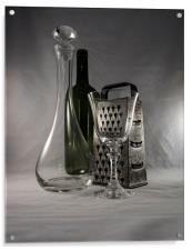 Glass and Metal, Acrylic Print