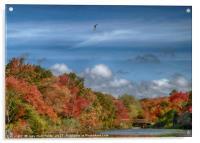 Autumn Tranquility, Acrylic Print