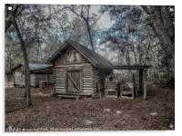 Tool Shed, Acrylic Print