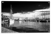 Port Vell, Barcelona, Acrylic Print