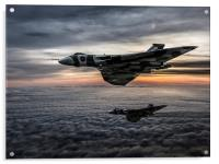 Avro Vulcan Formation, Acrylic Print