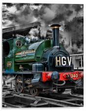 "GWR Saddle Tank ""Trojan"", Acrylic Print"