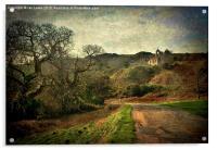 An Anglesey Lane, Acrylic Print
